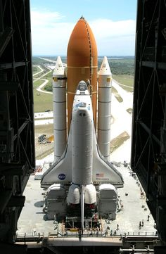 Nasa We were lucky enough to see 2 successful space shuttle launches in One of them was Discovery on April 5 - Cosmos, Space Shuttle, Space Telescope, Earth And Space, Space Rocket, Space Center, Air Space, Space And Astronomy, Hubble Space