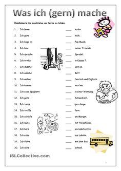 - Das Präsens - Ergänzen Sie die Verben im Präsens. German Grammar, Spanish Grammar, German Language Learning, Language Study, Grammar Activities, Reading Activities, German Resources, German Translation, Thematic Units