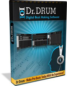 Make awesome hip hop, dance, and dub step beats with DR. DRUM Digital Music Production Software! Making beats haven't been this easy and affordable using your computer system.     No need to buy expensive DAW software, DR. DRUM is all you need to produce amazing sounding beats. The Dr Drum download page is here to make downloading DR. Drum simple and straight forward! $39.00