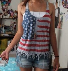4th of July outfit!!