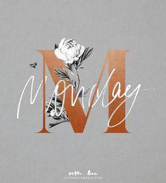 """Gefällt 10 Mal, 2 Kommentare - Viviane Lenders   Design (@vivianelenders_design) auf Instagram: """"M for Monday. #startyourweekright ✌🏼"""""""