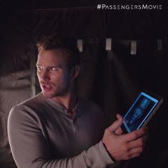 Chris Pratt shares some movie magic from the set of #PassengersMovie.