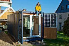 minimalistische Huizen door Stefan Brandt - solare Luftheizsysteme und Warmuftkollektoren