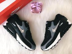Real 100% Authentisch Stioll Nike Air Max 90 Anthrazit