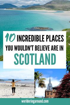 10 incredible places you wouldn't believe are in Scotland. Scotland hidden gems, Scotland off the be Scotland Travel Guide, Scotland Road Trip, Places In Scotland, Ireland Travel, Travel Europe, Scotland Destinations, Europe Train, Croatia Travel, Budget Travel