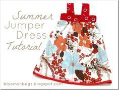 Summer Jumper Dress Tutorial