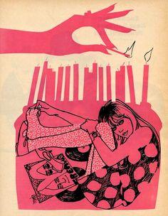 vinylespassion:  Al Parker - Sixteen, sweet and sour, 1967.