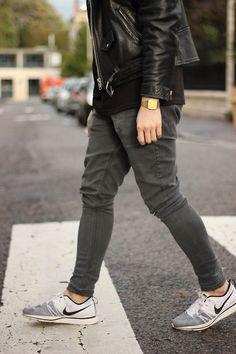 Sneakers oldschool casio watch tumblr Style fashion men