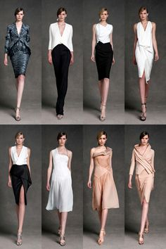 I would wear all of these if I could. Donna Karan Resort 2013 Collection | Tom & Lorenzo