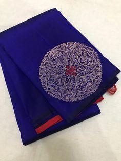 Pure kanchi soft silk saree Whatsapp +919791916916 Silk Saree Kanchipuram, Ikkat Silk Sarees, Handloom Saree, Banarsi Saree, Kids Blouse Designs, Saree Blouse Neck Designs, Engagement Saree, Baby Girl Dress Patterns, Wedding Silk Saree