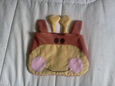 bolso manos - jirafa