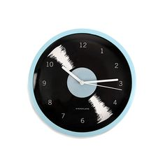 Kikkerland Vinyl Wall Clock.