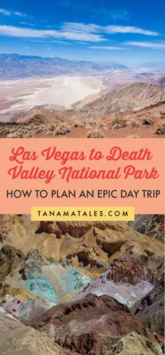 Things to do in Las Vegas - This article will provide step by step info on how to plan a Las Vegas to Death Valley day or road trip Canada Travel, Travel Usa, Death Valley Wildflowers, Las Vegas Trip, Vegas Vacation, Death Valley National Park, Us National Parks, Road Trip Usa, United States Travel