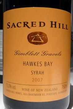 Sacred Hill Hawkes Bay Syrah | http://www.snooth.com | #wine