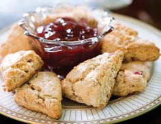 The perfect tea pairing for these Strawberry Lavender Scones.  http://www.rosemary-bb.com/bed-and-breakfast/afternoon-tea-at-rosemary-house/