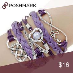 Femmes Mode R/étro Bracelet Vintage Multilayer Cl/éop/âtre Brown Bijoux Bracelet en Cuir