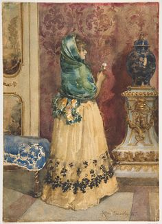 The Miniature by Attilio Simonetti (Italian 1843 – 1925) The Metropolitan Museum of Art