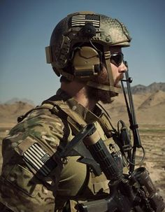 U.S. Army Special Forces Operational Detachment Alpha (SFOD-A) member in Afghanistan.