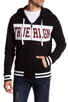 True Religion | Fight On Paneled Hoodie | Nordstrom Rack