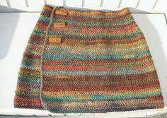 Hip Cozy – Hüftschmeichler pattern by Kerstin Treber-Koban Ravelry: Project Gallery for Hip Cozy – Hip flatter pattern by Kerstin Treber-Koban Crochet Skirts, Knit Skirt, Crochet Clothes, Diy Clothes, Knit Crochet, Crotchet, Crochet Bikini, Baby Knitting Patterns, Free Knitting