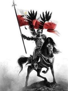 Polish Eagle Tattoo, Be Brave Tattoo, Rune Tattoo, Warrior Tattoos, Landsknecht, Tattoo Project, Knights Templar, Dark Fantasy, Medieval