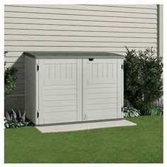 Storage Sheds - Suncast BMS4700 The StowAway Horizontal Storage Shed 70cubic Feet -- Check this awesome product by going to the link at the image. (This is an Amazon affiliate link)