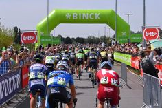 The BinckBank Tour start (Netherlands & Belgium)