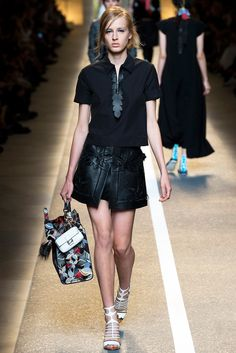 Spring 2015 RTW : Milan Fashion Week : Fendi