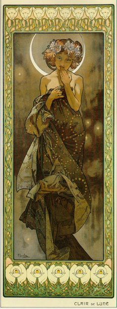Evening Star - Alphonse Mucha