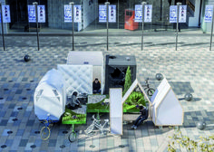 Image 21 of 24 from gallery of Tricycle House and Tricycle Garden / People's Architecture Office (PAO) + People's Industrial Design Office (PIDO). Courtesy of People's Architecture Office (PAO) + People's Industrial Design Office (PIDO) Tiny House Blog, Tiny House Swoon, Mobile Architecture, Architecture Office, Architecture Company, Architecture Panel, Drawing Architecture, Chinese Architecture, Architecture Portfolio