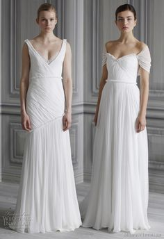 My Bridal Fashion Guide to Simple Wedding Dresses » NYC Wedding Photography Blog  http://moniquelhuillier.com/