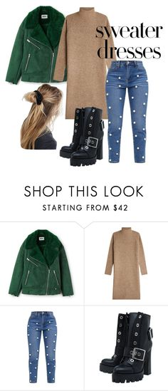 """""""sweater dresses"""" by getdressedwithme on Polyvore featuring moda, By Malene Birger, Alexander McQueen i ASOS"""
