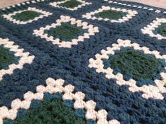Wintertide Afghan by Drolleries on Etsy