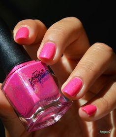 Peita's Polish Miss Dixie Swatch Holographic Nails, Love Nails, Swatch, Barbie, Nail Polish, Museum, Nail Art, Pink, Nail Polishes