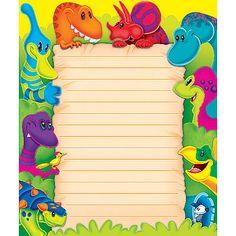 Dino-Mite Pals Note Pad – Rectangle (T-72375) #classroom #decor #AILtyler