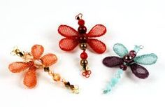 Image result for how to make a wire wrapped dragonfly
