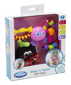 Take a look at this Ladybug Shake 'n' Rattle Gift Set by Playgro on #zulily today!