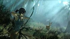 Lara Croft struggles to survive in these brand new screenshots of Tomb Raider!