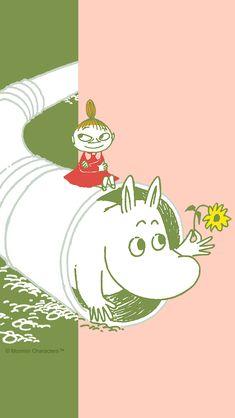 Beast Wallpaper, Fairy Wallpaper, Wallpaper Backgrounds, Iphone Wallpaper, Little My Moomin, Moomin Wallpaper, Best Disney Quotes, Moomin Valley, Tove Jansson