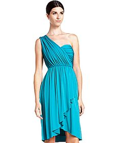 Max and Cleo One-Shoulder Jersey Dress (Perfect for a summer wedding)