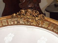View this item and discover similar for sale at - century giltwood Louis XV style gondola style chaise longue exceptional carving. Couches, Sofa, Luis Xvi, French Chairs, Settees, Skillets, Woodcarving, Forests, French Antiques