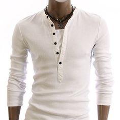 SLS Distributors Men's Boutique, LLC - Henley Shirt