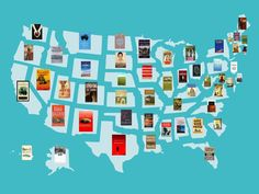 From California to Maine, these are the most famous books that take place in every state in America.