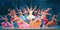 Waltz of the Flowers from the Nutcracker. So many gorgeous colours.