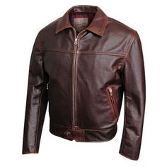 Aero 59 Highwayman jacket - brown