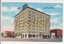Hotel Vincent Benton Harbor MI Michigan Postcard