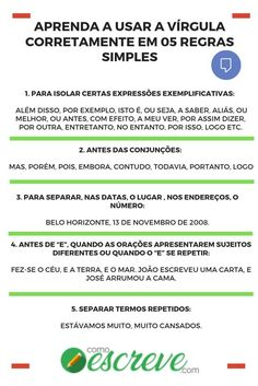 Portuguese Grammar, Portuguese Lessons, Portuguese Language, Learn Portuguese, Study Help, Study Tips, Writing Skills, Writing A Book, Study Techniques
