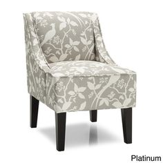 Marlow Bardot Swoop Accent Chair | Overstock.com Shopping - Great Deals on Living Room Chairs