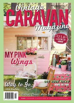 Pink camper for glamping! Vintage Rv, Trailers Vintage, Camping Vintage, Vintage Caravans, Vintage Pink, Vintage Motorhome, Vintage Ideas, Vintage Bohemian, Retro Campers