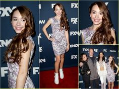 """Holly Taylor from the FX show """"THE AMERICANS"""" gets done up from head to toe"""